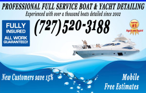 boat detailing and cleaning